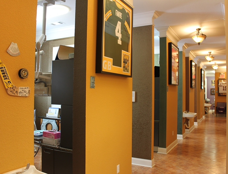 Slidell Dentist Office, Exceptional Dental, Interior, dental office